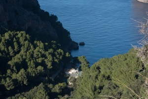 Destination Sa Calobra below