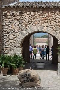 Old stone arch in Costitx.