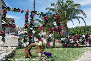 Costitx flower festival in May.