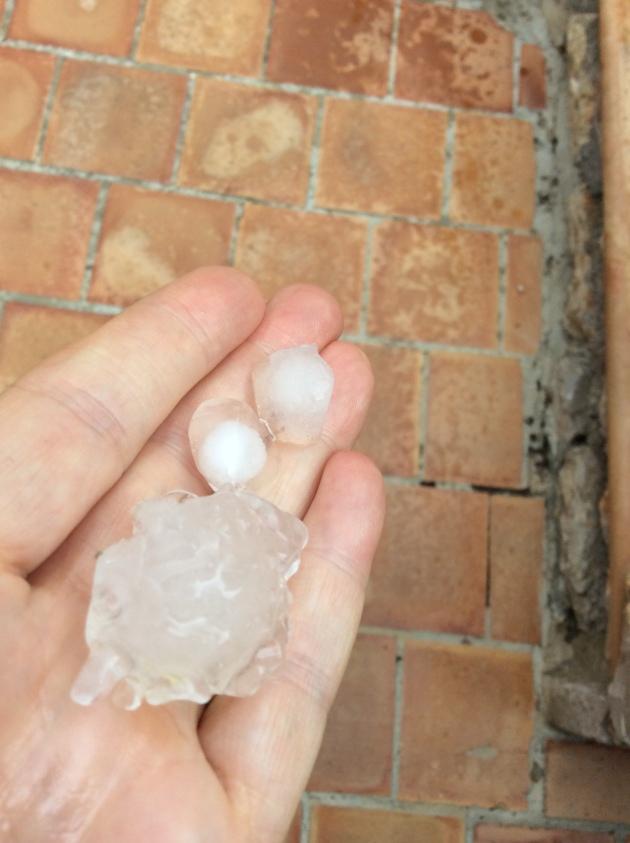 Hail on Majorca