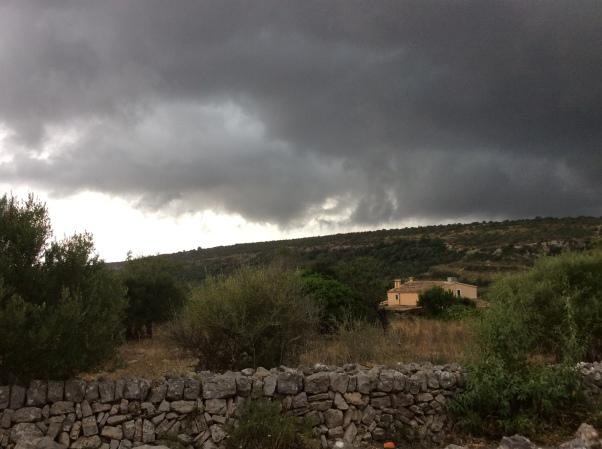 Storm clouds Mallorca