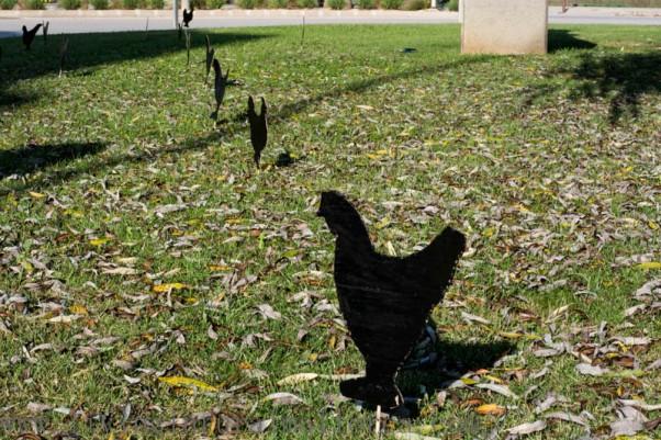 Chicken memorial
