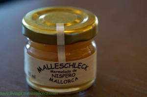 Delicious jam made from 'nisperos'