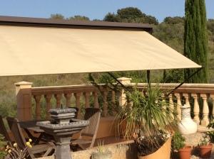 Terrace pergola
