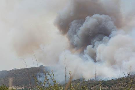 Mallorca wild fire