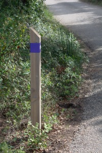 Walking signpost