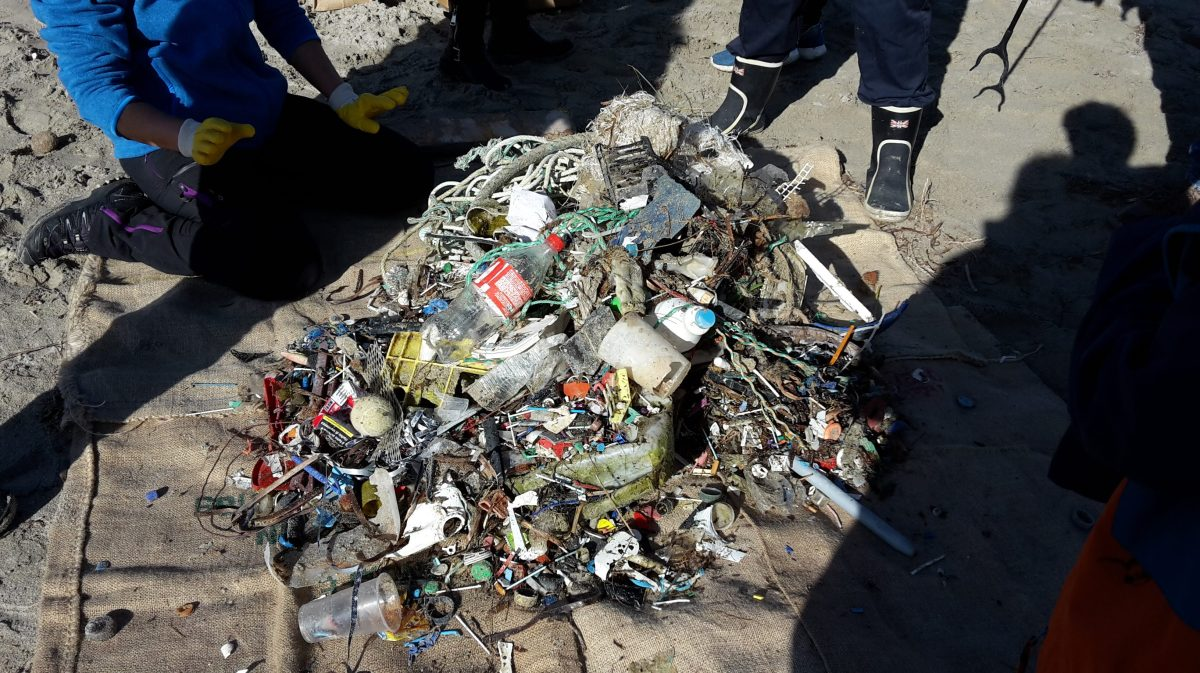 Son Serra de Marina plastic waste