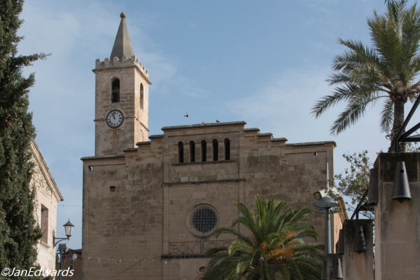 Church in Sant Llorenc