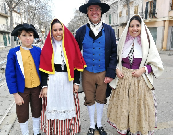 Traditional Mallorcan dress