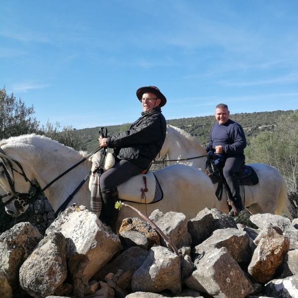 Horseriders enjoying Mallorca