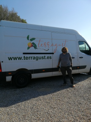 Terragust's home delivery service - in our drive